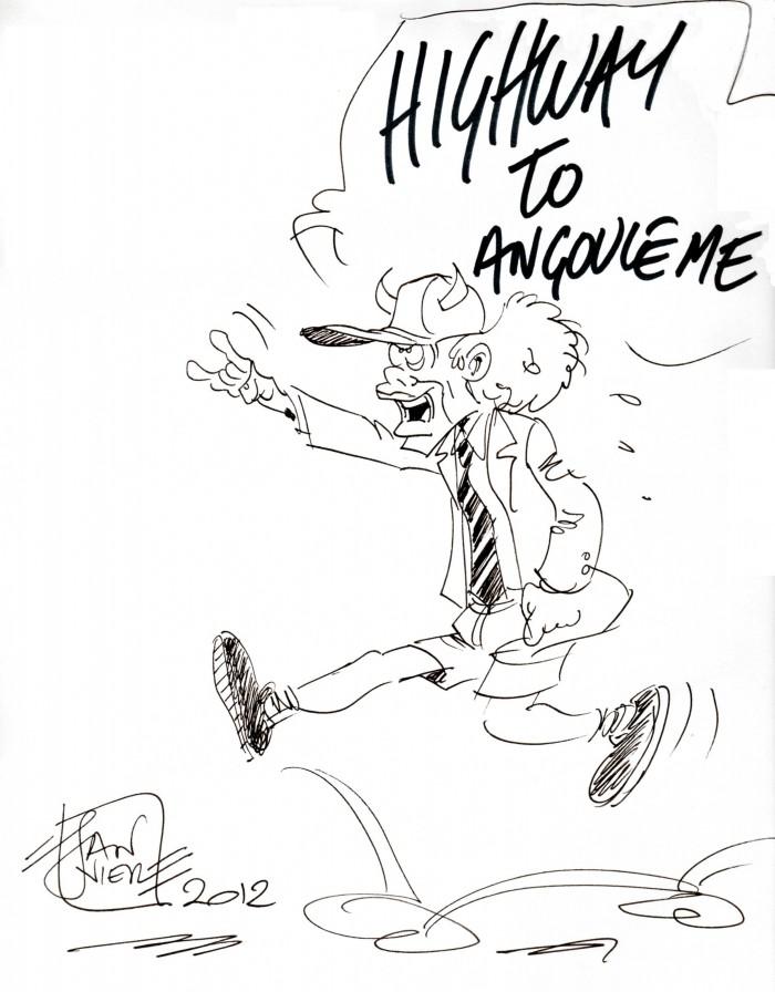 ANGUS YOUNG par Janvier
