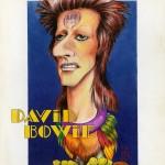 DAVIS BOWIE par Griffo