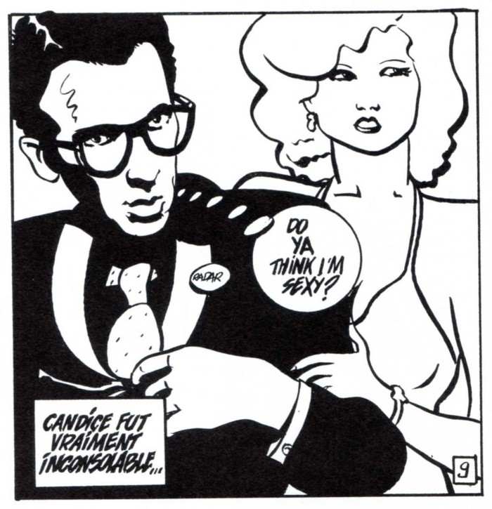 ELVIS COSTELLO par Clerc