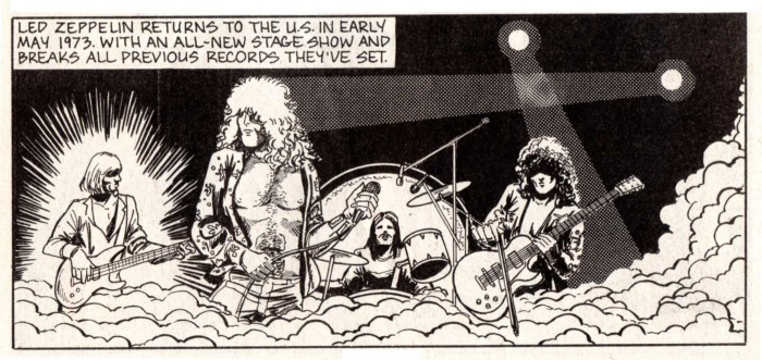 LED ZEPPELIN par Fox