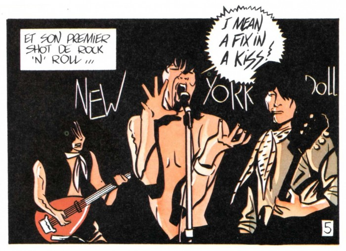 NEW YORK DOLLS par Clerc