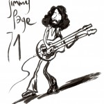 JIMMY PAGE par Bourhis