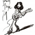 JIMMY PAGE par Bourhis