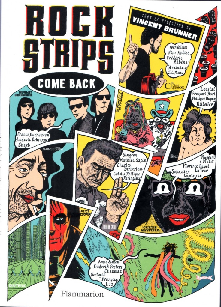 Rock Strips © Flammarion, 2011