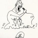 CHANTEUSE LYROCK par Willem