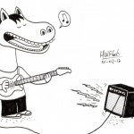 CHEVAL GRATTEUX par Halfbob