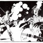 GUITARISTE ACID ROCK par Gillon