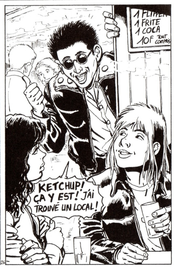 Ketchup Boy Ketchup Boy ; Poussin - Berteloot © Librairie L'Atalante, 2008