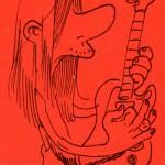 GUITARISTE HYSTÉRIQUE par Zep