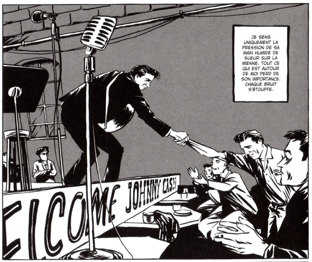 Johnny Cash – Une vie 1932-2003 ; Reinhard Kleist © Dargaud, 2007