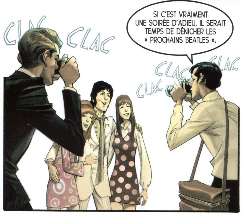 Cinquième Beatles2  ; Robinbson - Baker