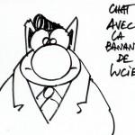 CHAT ROCKAB par Geluck