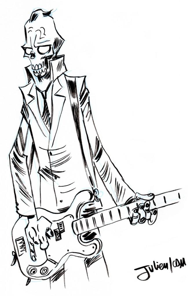 Zumbie bassiste