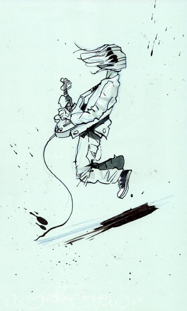 Cobain par Otero © Collection personnelle